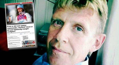 Kommentaren til kulturredaktør i Nordlys, Lasse Jangås, har blitt lest over 210.000 ganger