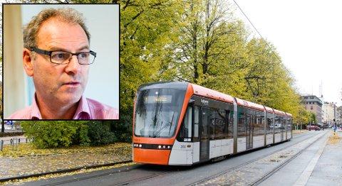 Dag Skansen mener staten må gi svar på finansiering av Bybanen til Åsane før bystyret velger trasé til Åsane.