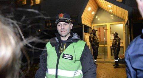 Politiets innsatsleder på stedet, Endre Skeie. Han sier at ingenting tyder på at noe kriminelt har skjedd.