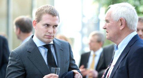 Frederik og Trond Mohn.