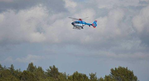 Helikopter fra Oslo har deltatt i søket etter Agnar (74). Søket forsetter i natt.