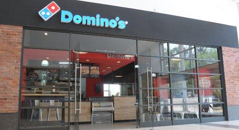 Slik ser et typisk Domino's-utsalg ut.