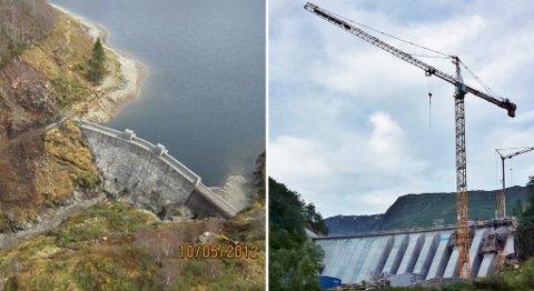 Ny demning på Svartavatnet gir 15 meter høyere vannspeil.