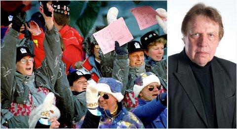 Jubel også i kongefamilien for 20 år siden, men det norske folk er mot at Norge igjen skal arrangere vinterleker i 2022. Det synes ikke å affisere Dagsrevyens stab, skriver Erling Borgen (innfelt) i dag.