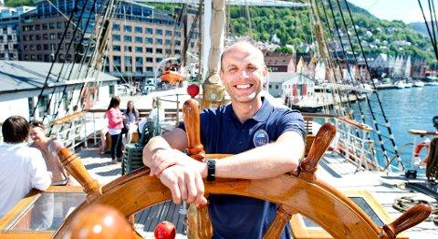 Haakon Steinar Vatle har vært prosjektleder for Tall Ships Races 2014. Han har fått hjelp av to prosjektansatte og opp mot 270 frivillige.