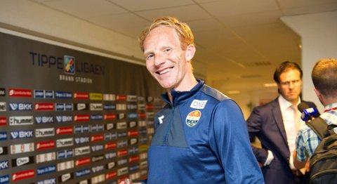 Peter Kovács gliste godt etter matchvinnerscoringen mot Brann på Stadion for tre runder siden. Kanskje var det her Rikard Norling fikk øynene opp for ham?