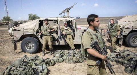 Det var mandag kveld at Israel og palestinerne ble enige om våpenhvilen, som trer i kraft klokken 7 norsk tid.