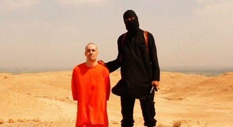 En video sluppet av IS viser halshuggingen av det som skal være James Foley