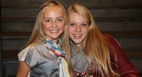 Mathea-Mari Glittenberg (13) fra Bergen og Vanja Vatle (14) fra Osterøy har allerede mange fans gjennom iTunes og NRK Super før MGP jr-finalen lørdag.