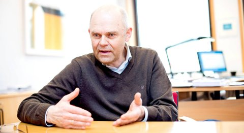 Rektor Ole-Gunnar Søgnen ved Høgskolen i Bergen mener overføring av forelesninger fra ett sted til et annet kan være en del av fremtidens organisering.
