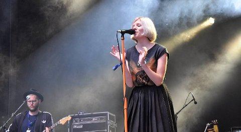 Aurora Aksnes fikk talentprisen på 15 000 kroner.