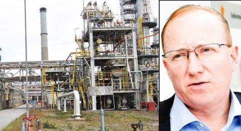 Den særnorske eiendomsskatten koster Statoil Mongstad hundre millioner kroner i året. Frps Gjermund Hagesæter mener rammevilkårene er uakseptable.