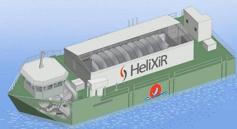 Behandlingsflåten blir 32 x 12 meter og vil inneholde en HeliX levendekjølingstank på 133 kubikkmeter.