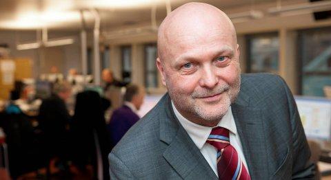 Hallgeir Isdahl er konserndirektør for personmarkedet i Sparebanken Vest.