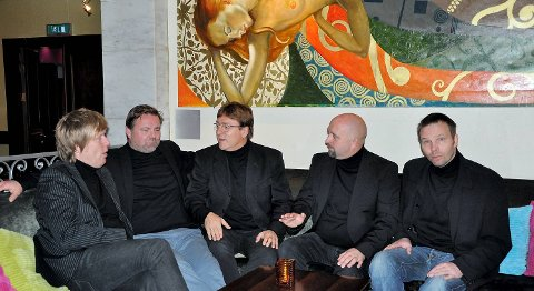 Tor Endresen har fått med seg (f.v.) Daniel Birkeland, Kai Taule, Helge Nyheim og Dag Øivind Rebnord i bandet.
