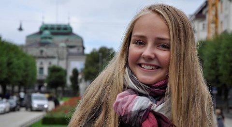 -Det er hektisk, men gøy, sier «MGP jr.»-vinner Mathea-Mari Glittenberg om turné og konserter i høst. Lørdag synger hun på Bergen Kino.