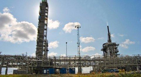 Shell Cansolv er alene om å gjøre CO2-tester på Mongstad.