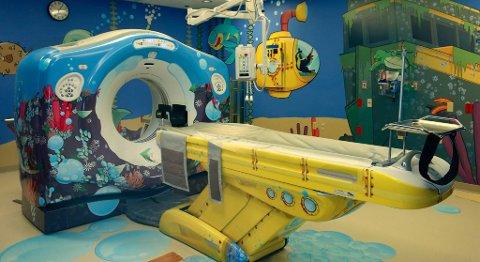 General Electrics har utviklet en hel serie scannere med slike eventyr-scenarier, og de har vært en enorm suksess blant barna, sykehusene og legene.