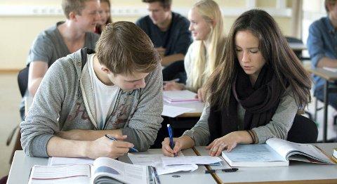 Elevene i Bergen er flinkere enn i Hordaland, men Oslo har de beste resultatene på nasjonale prøver.