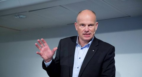 Statoil-direktør Arne Sigve Nylund talte på Desemberkonferansen i Kristiansund i går. Bildet er fra LOs olje- og gasskonefarnse i Bergen i høst.