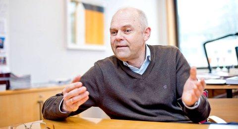 Rektor Ole-Gunnar Søgnen ved Høgskolen i Bergen er glad for at man fra neste høst kan tilby utdanning i undervannsteknologi i Kristiansund.
