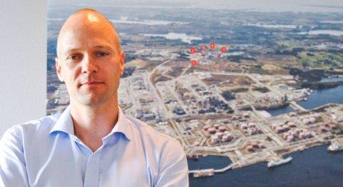 Direktør Rasmus Wille på Statoil Mongstad meiner det er svært viktig at olja frå gigantfeltet Johan Sverdrup vert prosessert på Mongstad. Men det krev i så fall investeringar på fleire milliardar.