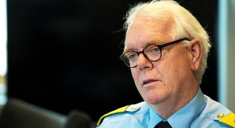 Politimester Geir Gudmundsen har ingen kommentar til pressemeldingen fra advokat Bengt Waldow.