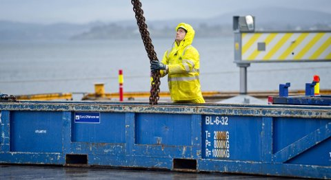 NorSea Group AS har blant annet fått kontrakt på terminaltjenester og lagertjenester på Statoils base på Ågotnes i Hordaland.
