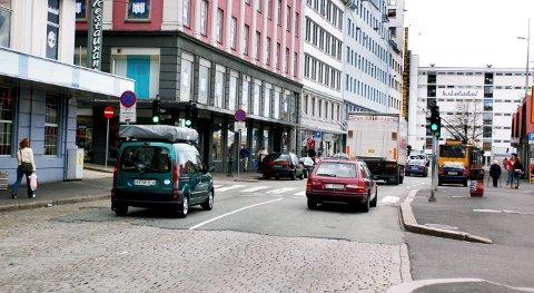 Strandkaien stenges for trafikk fra 31. mai.