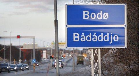 Strides innad. Det finnes ingen tvil om at samisk kultur har en historie i og utenfor Bodø, ifølge fagfolk. ? Men om det «tilhører» pite- eller lulesamer, vet vi ikke, sier historieprofessor Bjørg Evjen. Bodø ligger nemlig på grensen mellom de to områdene. Foto: Tom Melby