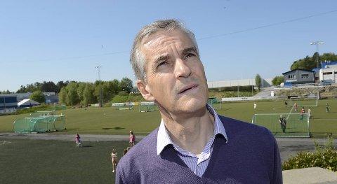 Helse- og omsorgsminister Jonas Gahr Støre besøkte tirsdag klubbene bak prosjektet Idrett Bergen Sør.