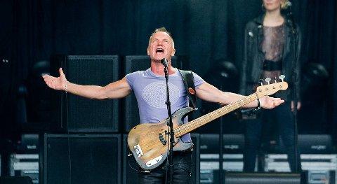 Sting kommer tilbake til Bergen og Plenen 26. juni. I 2012 skapte han fest samme sted.