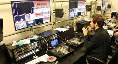 Bergen Filharmoniske Orkester har et permanent studio i Grieghallen, og styrer seks HD-kamera.