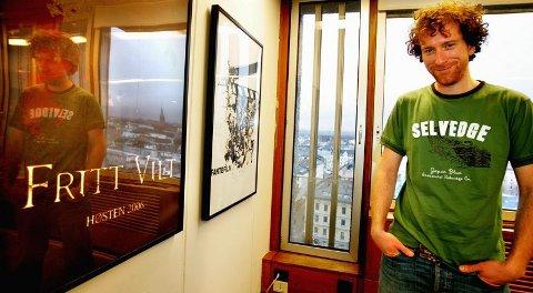 SPILLEFILM: ? Det er gøy å ha millioner å realisere en drøm for, sier Roar Uthaug, som gleder seg til å komme i gang med filmingen i Lom i februar.  FOTO: TOM GUSTAVSEN
