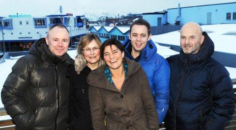 - Blå bru og blå by er drømmen, synes Bengt Jaegtnes, Mona Dahl, Kristine Røiri, Ivar Tjønsø og Hallvard Pettersen.