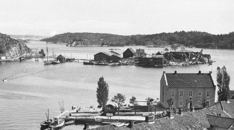 Holmen anno 1925
