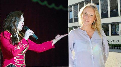 Ronja Gujord (til venstre) og Elise Ulseth Neergaard kjemper om å få prisen Helt Sjef!