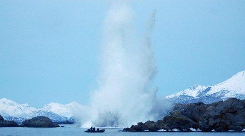 Boom! Fortsatt futt i 65 år gammelt britisk sprengstoff
