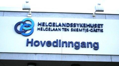 SYKEHUS: Sykehusene i fylket har allerede sine samiske navn, som tillegg. Her gjelder det for Helgelandssykehuset i Mosjøen.