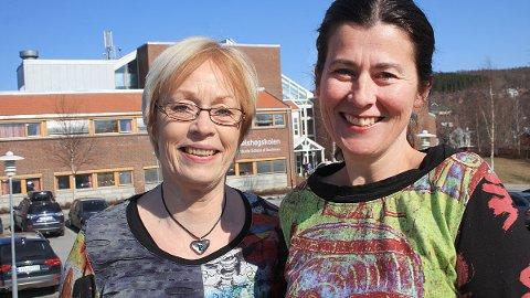 Universitetslektor Anneke Leenheer (Helgeland, t.v.) og førsteamanuensis Dorthe Eide ved Universitetet i Nordland (Bodø), Handelshøgskolen i Bodø, skal studere prosessen mot ett felles reiselivsselskap på Helgeland.