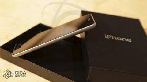 Giga Netzwerk tror det er 98% sikkert at iPhone 5 vil se slik ut.
