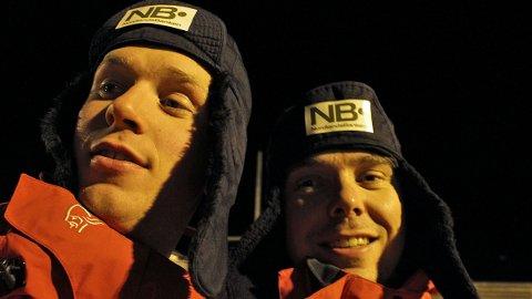 Jacob Meland (til v.) og Ottar Haldorsen