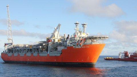 I slutten av september i fjor var Skarv-skipet på plass ute på feltet. Oppstart av olje- og gassproduksjonem er utsatt til slutten av dette året.