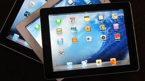 Apples iPader...
