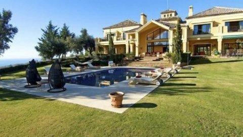 Her er huset som er til salgs.