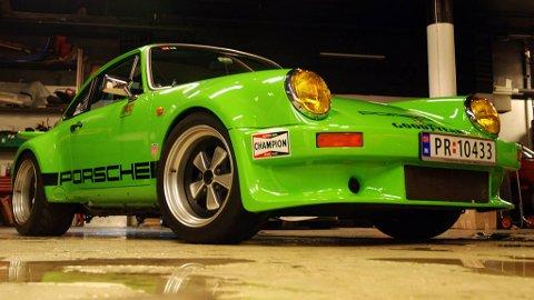 De få originale IROC 911-ene som fortsatt finnes igjen selges for millionbeløp, så da var det bare å finne fram verktøykassa å bygge en selv.