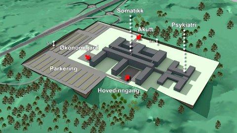 Penger: En lokalisering ved Krifast vil gi Helse Møre og Romsdal bedre økonomi.