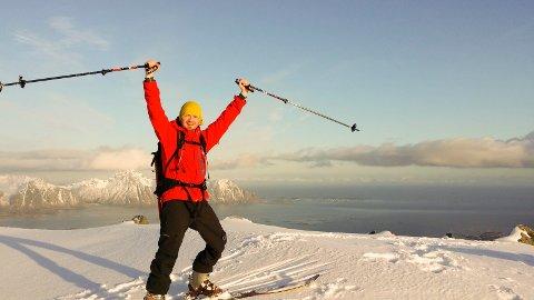 Utfordrer seg selv: For å kjenne at han virkelig lever liker Markus Jäntti å gjøre noe som gjør han redd ? som å utfordre høydeskrekken. ? Jeg gleder meg veldig til Arctic Kite Camp, sier han.Foto: privat