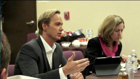 LOBBYVIRKSOMHET: Christian Schøyen brukte mye tid i møter med det offentlige Nevada for å skape blest om prosjektet.