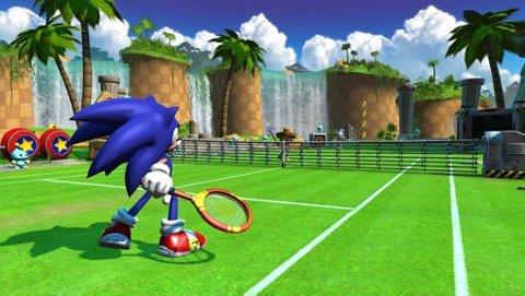Sonic the Hedgehog er selvsagt med når Segas stjernelag inviterer til tennis-turnering.